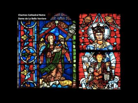 Chartres Cathedral Stained Glass Window Program***