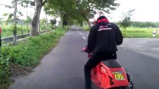 vespa drag pestol racing door GRT