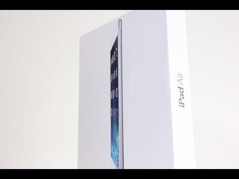 iPad Air Unboxing (Silver 32GB Wi-Fi)