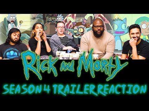 Rick and Morty - Season 4 Official Trailer Reaction
