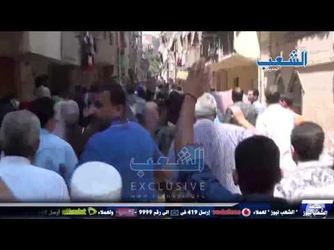 مسيرة المطرية ترفع تيشيرت أبو تريكة