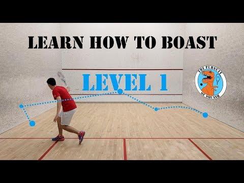 Squash - Learn How to Boast - Level 1