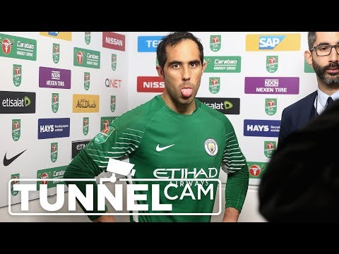 Video: BRILLIANT BRAVO | Man City v Wolves (4-1 on pens) | TUNNEL CAM