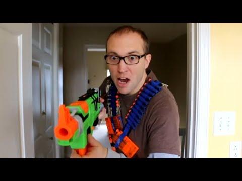 Nerf War:  Payback Time 5 (видео)
