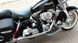 10. 2004 Harley Davidson Roadking Classic, Rhine Hart exhaust