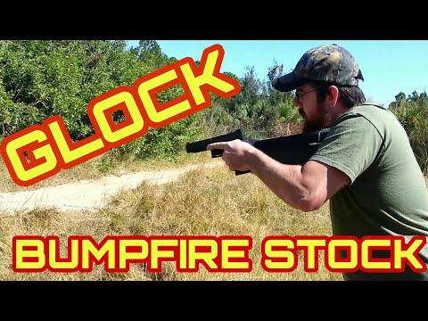 Homemade Glock Bump Fire Stock