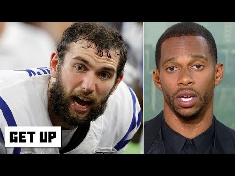Video: Andrew Luck's injury puts the Colts' Super Bowl hopes in jeopardy – Victor Cruz | Get Up