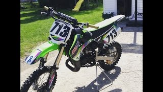 5. 2011 Kawasaki Kx85, Start up, Dirt bike review
