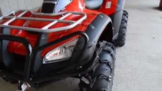 4. 2014 Rincon 680 / ITP Wheels & Tires / Warn 2500lb Winch / Front Bumper - Honda of Chattanooga