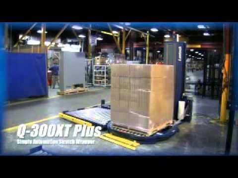 Semi Automatic Stretch Machine - Lantech Q300XT Plus