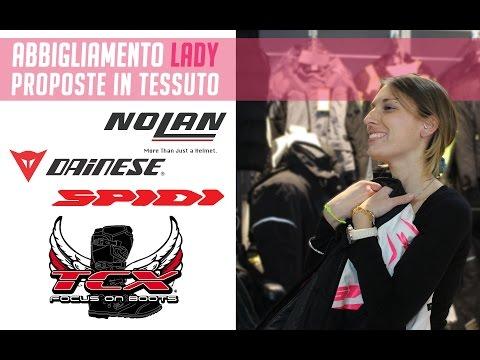 Oram Presenta: Abbigliamento Moto Lady Tessuto