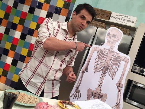 Osteoporosis, los huesos y la alimentación