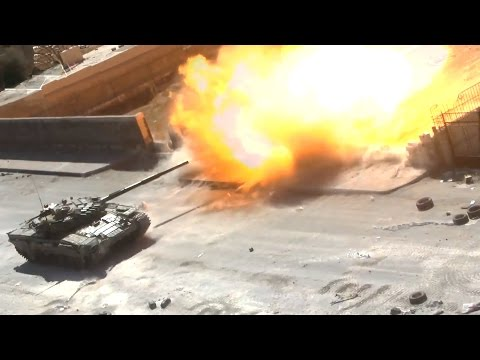 ᴴᴰ Tanks with GoPro's™, get destroyed in Jobar Syria ٭٭subtitles٭٭