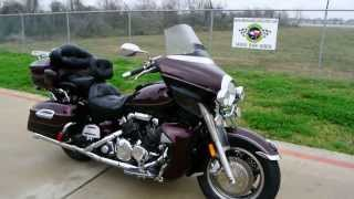 8. Yamaha Royal Star Venture Black Cherry