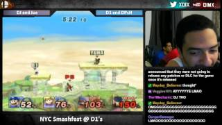 DJ Nintendo's Ike is too much. D1 goes nuts.