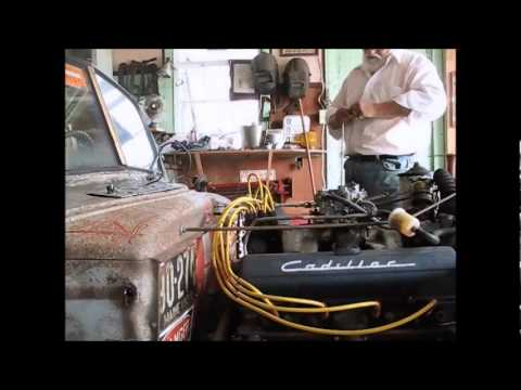 Repairing a vacuum advance on a 1953 Cadillac 331