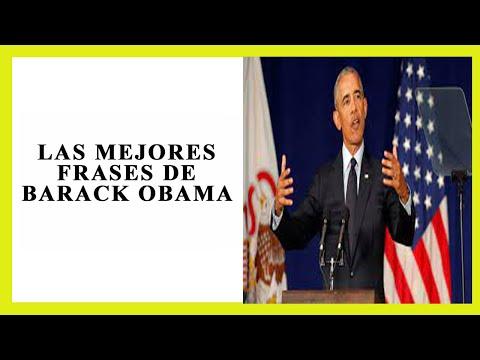 Frases celebres -  Las 10 MEJORES FRASES de BARACK OBAMA
