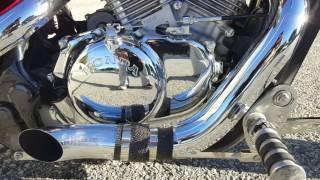 7. 2006 honda shadow vlx custom bobber