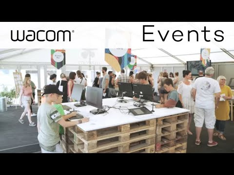 Wacom at Open Source Festival 2017