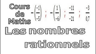 Maths 3ème - Les nombres rationnels Exercice 8