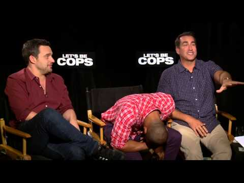 Jake Johnson, Damon Wayans Jr. and Rob Riggle Talk Let's Be Cops