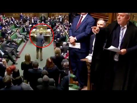 Skaper fullstendig kaos under Brexit-møte. Må forlate salen