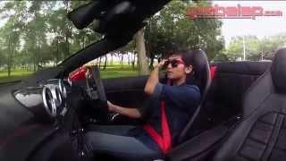 Video CAR REVIEW : Alinka Hardianti on Ferrari California T MP3, 3GP, MP4, WEBM, AVI, FLV Juni 2018