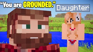 If Your Dad Played Minecraft
