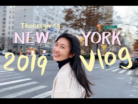 Vlog 6 | My Thanksgiving Break in New York | Friendsgiving