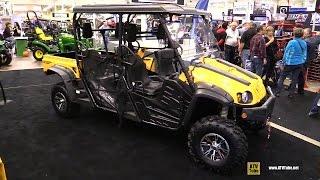 8. 2017 Cub Cadet Challenger 750 Crew Utility ATV - Walkaround - 2016 Toronto ATV Show