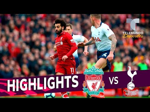 Liverpool Vs. Tottenham: 2-1 Goals & Highlights | Premier League | Telemundo Deportes