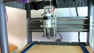 Assembling the F8 leadscrew on the Z axis of a Zen Toolworks 7x12 CNC router. Here's some more info: http://www.jcopro.net/2012/02/22/swapping-the-z-axis-for...