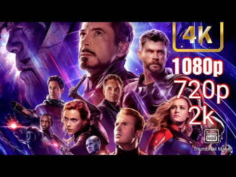 How to Download Avengers Endgame in hindi in all formats 4k 2k 1080p 720p 480p latest video