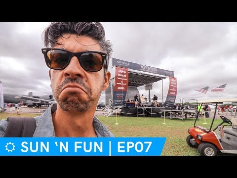 Tornado warning; they're cancelling the airshow? | Sun 'N Fun 2018