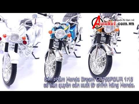 Xe Mô Hình Honda CB750FOUR
