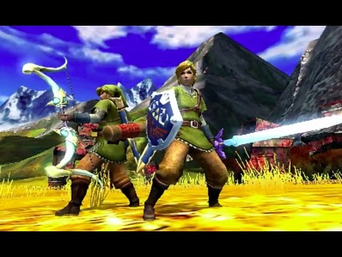 link - Craft Link's signature green tunic, Master Sword and bow in the upcoming Monster Hunter 4 Ultimate. Visit all of our channels: Features & Reviews - http://www.youtube.com/user/gamespot Gameplay...