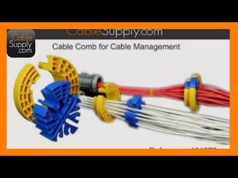 cable supply - Available at: http://cablesupply.com/cable-pulling-tools/31-cable-comb.html Check out our Facebook page to ask questions and get our informational TechBits! ...