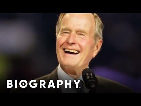 George H.W. Bush - U.S. President | Mini Bio | BIO