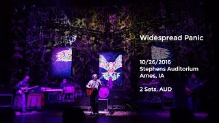 Widespread Panic Live at Stephens Auditorium, Ames, IA - 10/26/2016 Full Show AUD Video