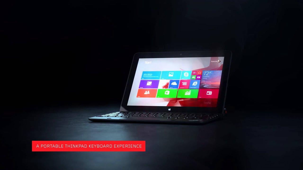 Think Innovation Minute: ThinkPad 10 Ultrabook Keyboard