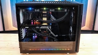 Fractal Design Define R6 Build - i7-8700K / MSI Z370 Godlike Gaming (Livestream Archive)