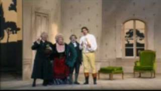 From a 1993 performance of Mozarts Le nozze di Figaro (The Marriage of Figaro) at the Théàtre du Châlet in Paris, directed by Jean Louis Thamin and conducted by John Eliot Gardiner. Bryn Terfel (Figaro), Alison Hagley (Susanna), Rodney Gilfry (Count Almaviva), Hillevi Martinpelto (Countess Almaviva), Susan McCulloch (Marcellina), Carlos Feller (Bartolo), Francis Egerton (Basilio).