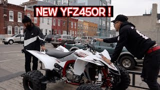 6. NEW ATV ALERT ! ( YFZ450R )