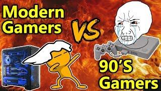 Video 90s Gamers VS Modern Gamers MP3, 3GP, MP4, WEBM, AVI, FLV Juli 2018