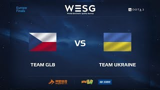 GLB vs Team Ukraine, WESG 2017 Dota 2 European Qualifier Finals