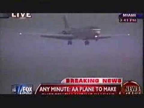 Emergency landing at Miami International-2/22/08