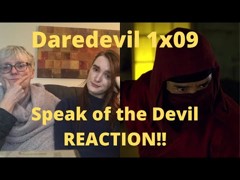 """Daredevil Season 1 Episode 9 """"Speak of the Devil"""" REACTION!!"""