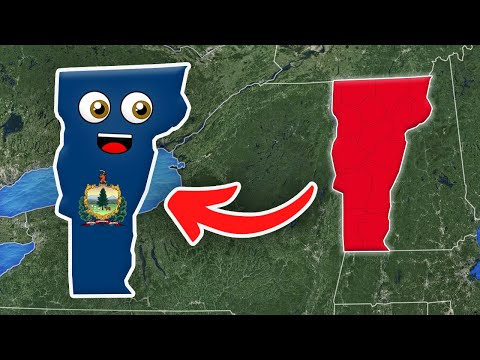 Vermont/Vermont Geography/Vermont State