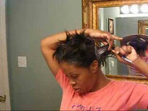 How to Apply a Relaxer at Home/ Self Relax  !!!!! Part 1