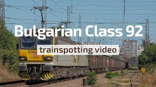 Nonton British Rail Class 92 Locomotives Of Db Cargo Bulgaria   Compilation  2013 2017  Film Subtitle Indonesia Streaming Movie Download